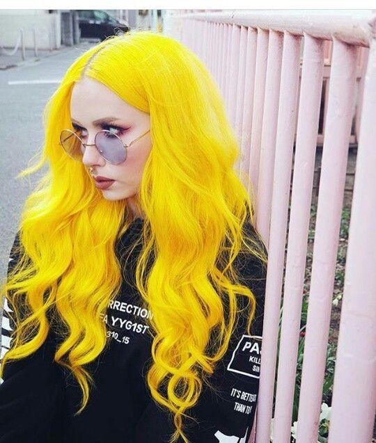 Cabelo amarelo