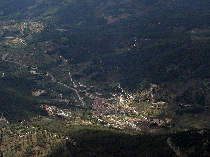 Panorámica de Cuevas del Valle.