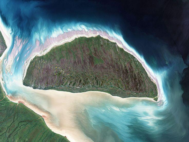Survey Akimiski Island from the Air