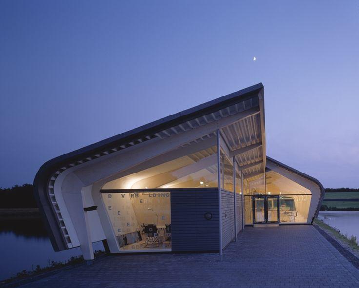 De Verbeelding Exhibition Hall in Zeewolde, The Netherlands by René van Zuuk Architects