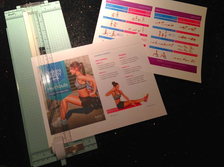 The Designing Doc: Kayla Itsines Bikini Body Guide Review and Laminated Workouts