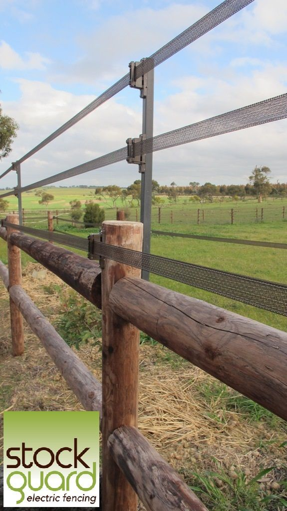 Got a fiesty stallion you need to contain safely?  Here's a great way to extend the height of your fence. www.stockguard.com.au