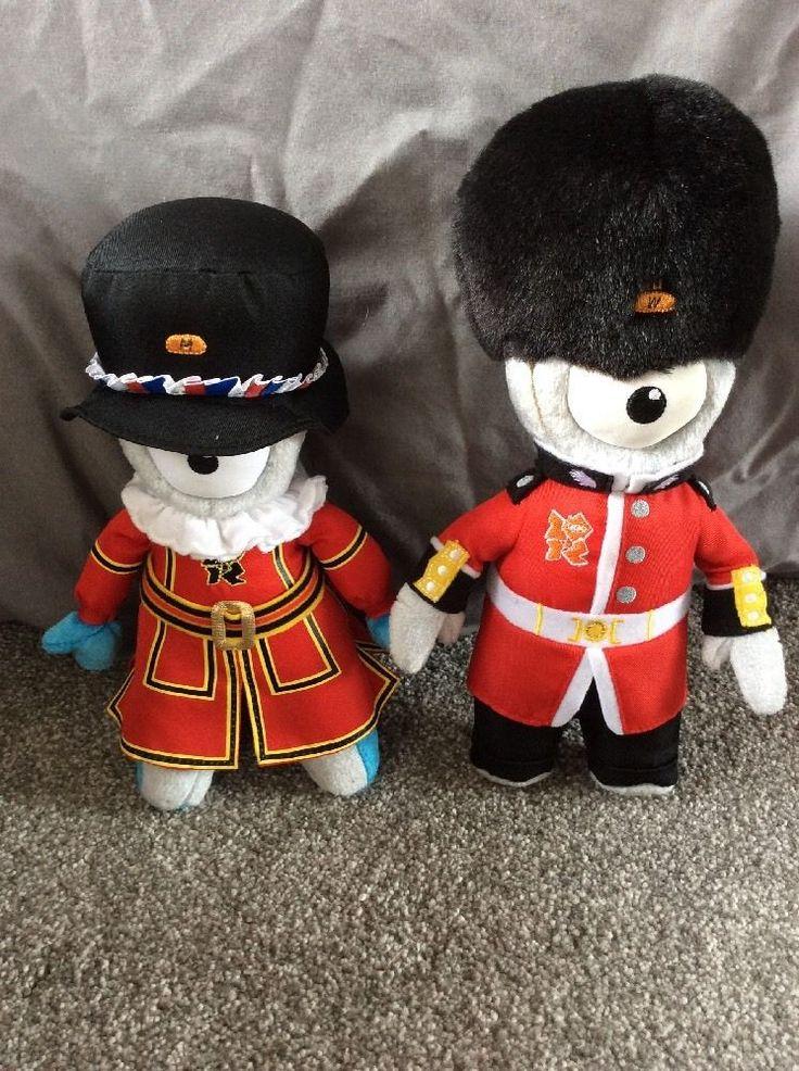 Olympics & Paralympics London 2012 Mascots **FREE UK POSTAGE**  | eBay