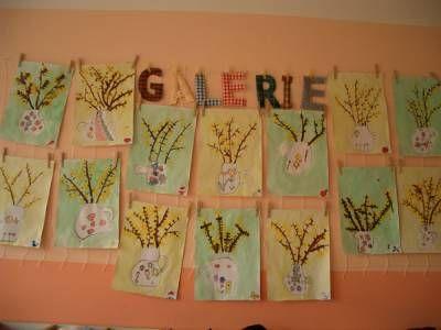 MATEŘSKÁ ŠKOLA SKŘIVÁNEK - Květen si říká podle kvítí. Rostlinná říše ve třídě Pavoučků. -