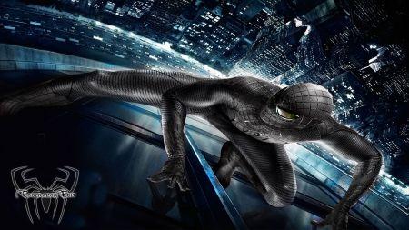 The Amazing Spiderman HD Wallpaper- Andrew Garfiled  - Black Suited Spiderman HD 1080p - Movies Wallpaper ID 1272825 - Desktop Nexus Entertainment