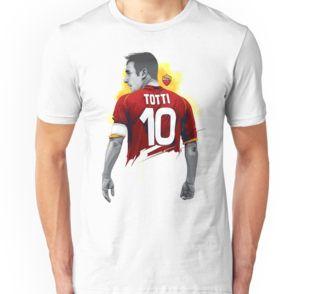 Unisex T-Shirt Francesco Totti #tottiday #redbubble #tshirt #ASRoma #Italy #SerieA #Football #legend #allstar #masterpiece #player #francescototti