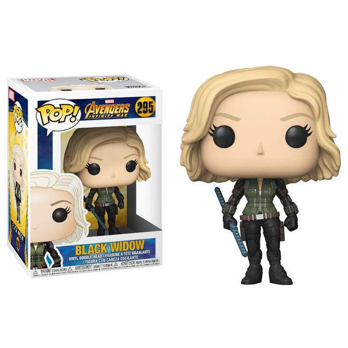 Funko POP <b>Marvel</b>: <b>Avengers Infinity War</b> - Black Widow Figure ...
