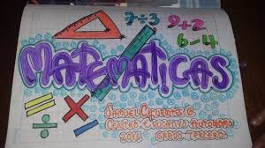 Resultado de imagen para portadas de matematicas