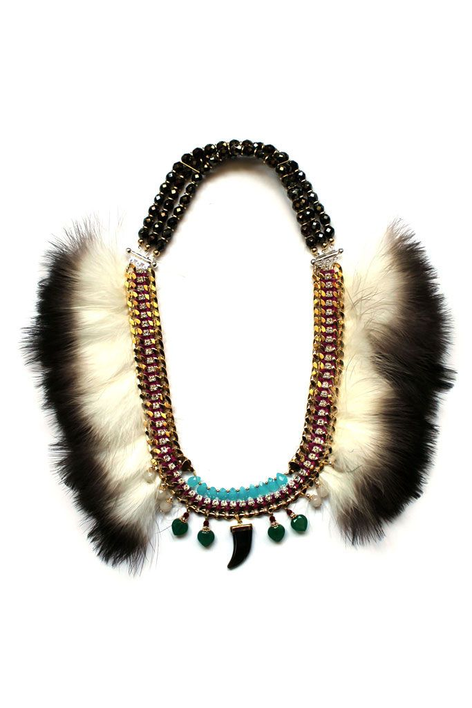 Statement!  Style.com Accessories Index : spring 2013 : Akong