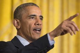 Die Polizei hat die Anwohner über die Maßnahmen zum Besuch von Barack Obama informiert. Das Verbot für Kinder, draußen zu spielen, stieß auf Kopfschütteln.