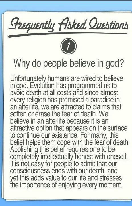 10 Reasons Why People Are Religious
