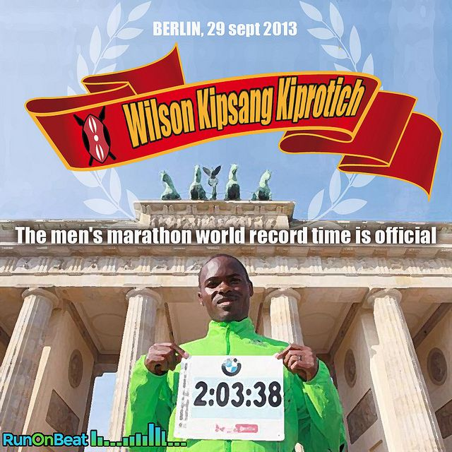 Wilson Kipsang Kiprotich, born March 15, 1982, is a Kenyan athlete who specializes in long-distance running, competing in events ranging from 10 km to the  Wilson Kipsang Kiprotich new #marathon world's record ! 2:03:23 run on beat - RunOnBeat !
