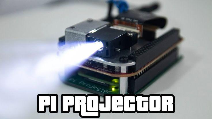 Pocket Projector with Raspberry Pi @Raspberry_Pi #PiDay #RaspberryPi