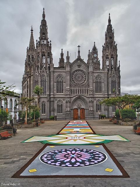 Corpus Christi en Arucas (Gran Canaria), via Flickr.