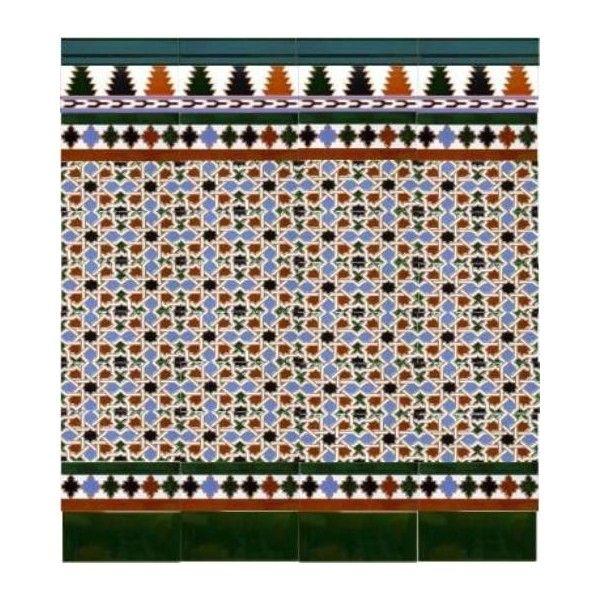 32 mejores im genes sobre azulejos artesanos granadinos en for Azulejos para patios rusticos