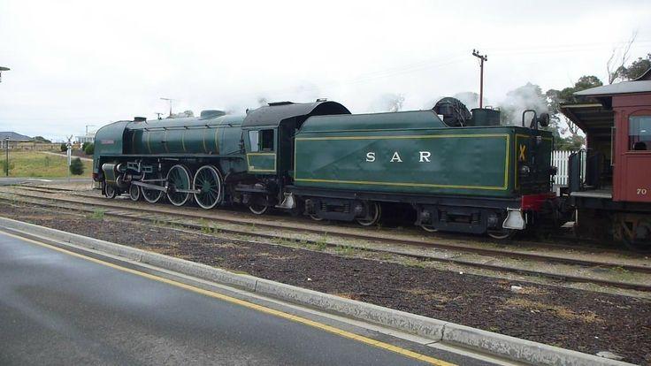 The cockle train at Goowa