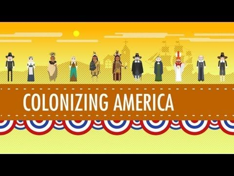 In which John Green teaches you about the (English) colonies in what is now the United States. He covers the first permanent English colony at Jamestown, Virginia, the various theocracies in Massachusetts, the feudal kingdom in Maryland, and even a bit about the spooky lost colony at Roanoke Island. What were the English doing in America, anyway...