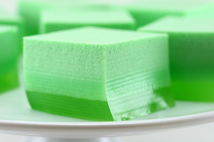 Ok, so these ice cream Jell-O shots don't technically contain any alcohol, but the remedy is easy: Swap out half of the water for vodka.