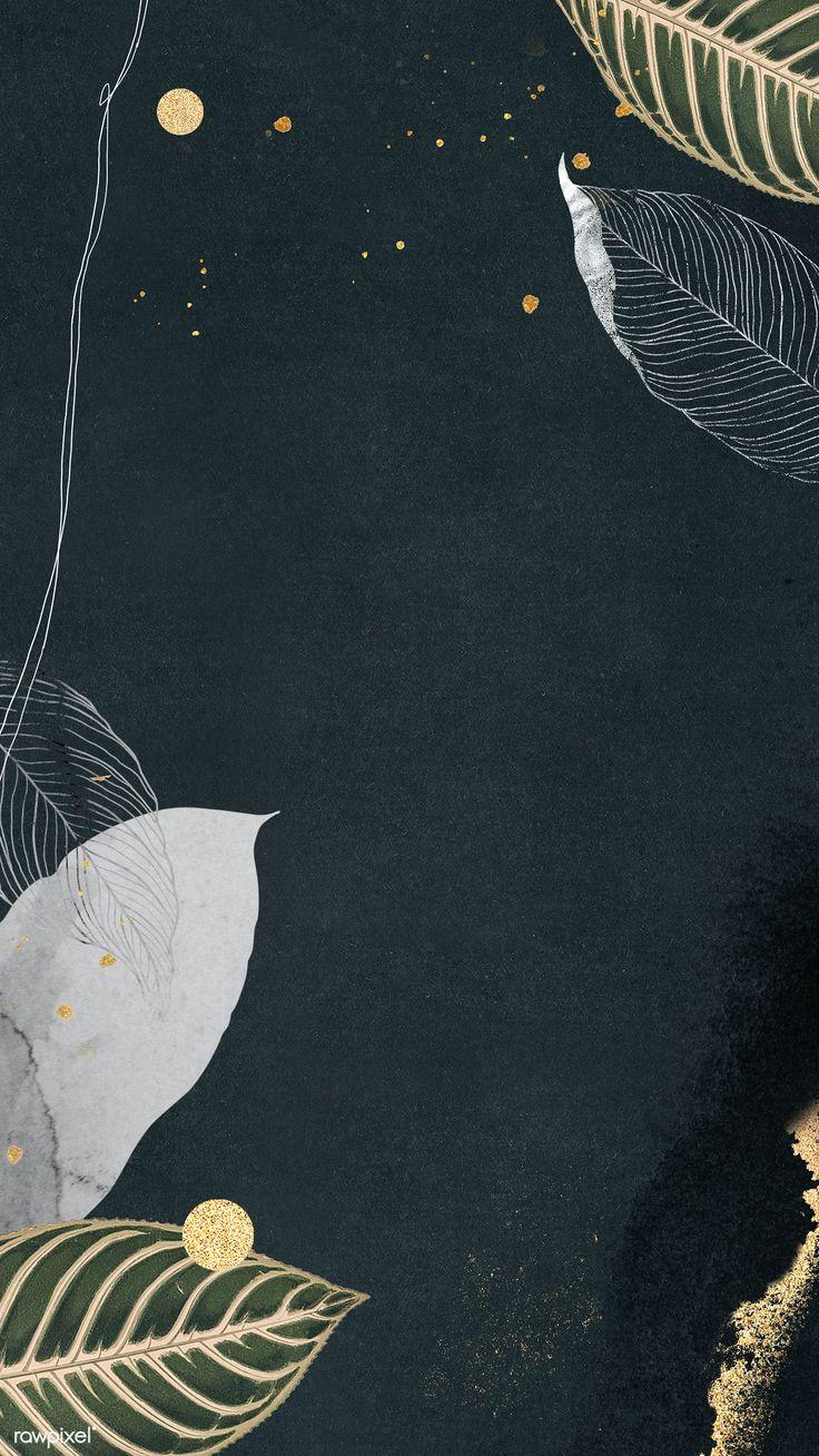 Download premium illustration of detailed botanical gold