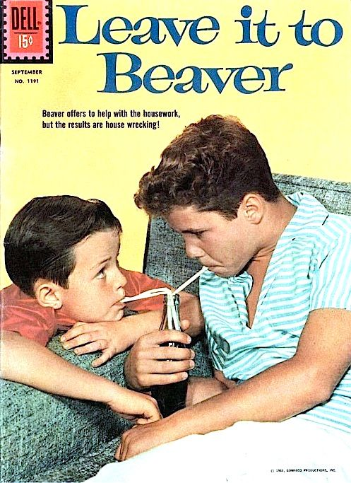 Leave It To Beaver...I LOVED <3 this show; The Color and Black and White...
