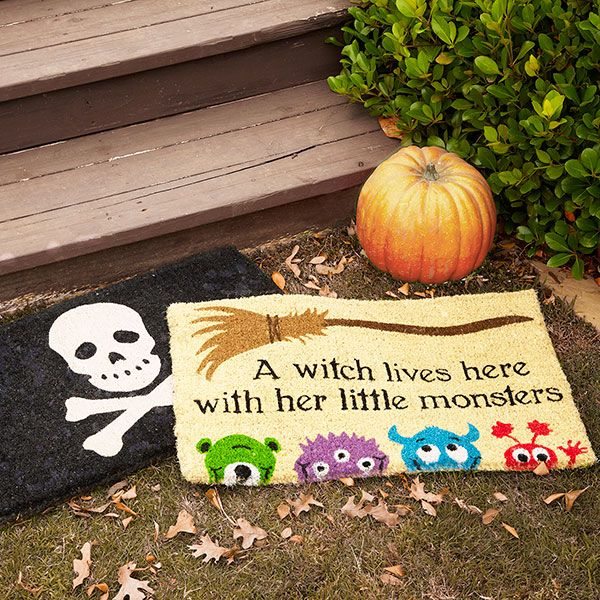 Wisteria - Holiday - Fall Harvest - Halloween -  Bewitching Doormat - $34.00