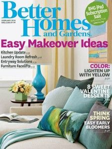 friday freebies free better homes and gardens magazine subscription - Better Home And Garden