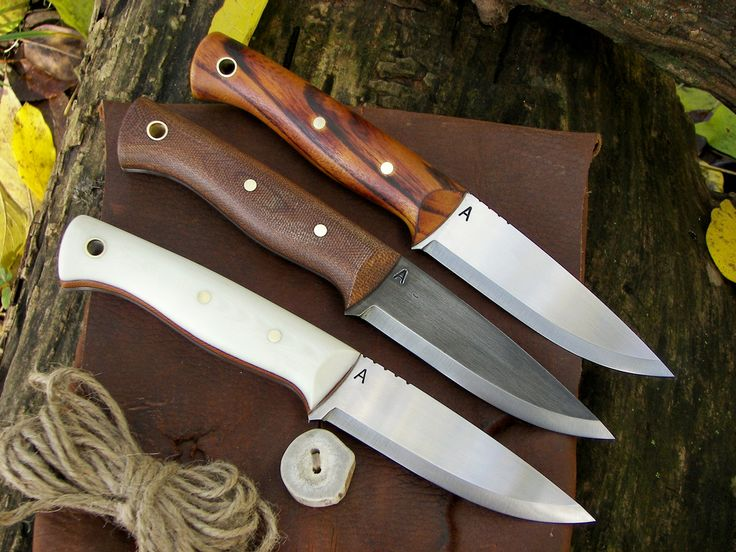 Three bushcraft knives up for sale!!!