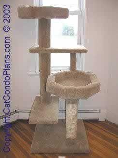 make a cat tree - plan 2 #TreePlan - Top 10 at - Stylendesigns.com!