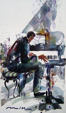 ACUARELA DE UN PIANISTA / Misha Lenn