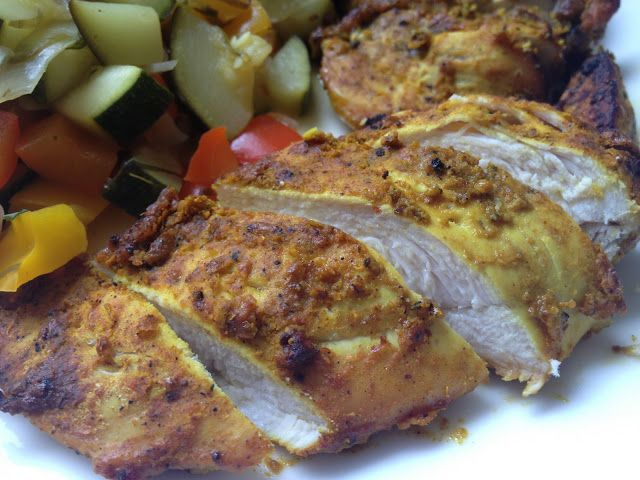 Dukan Diet Recipe: Indian Spiced Chicken, for attack phase and cruise phase