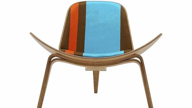 paul smith adds vibrancy to classic hans j. wegner chairs | chicago tribune