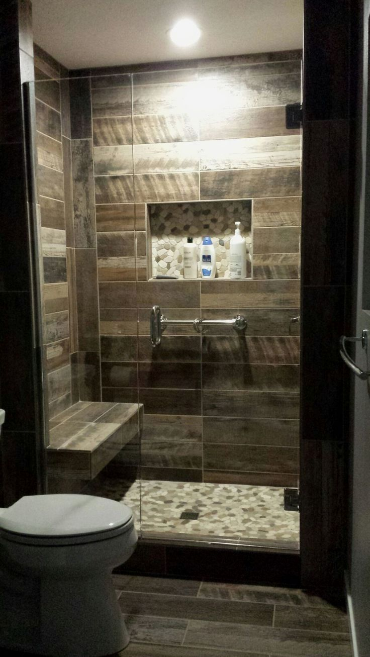 We all have that one bathroom in our home that feels like the inside of a sardine can when you walk in. Luckily there are so many ways you can trick the eye into thinking your tiny bathroom is larger than it really is.