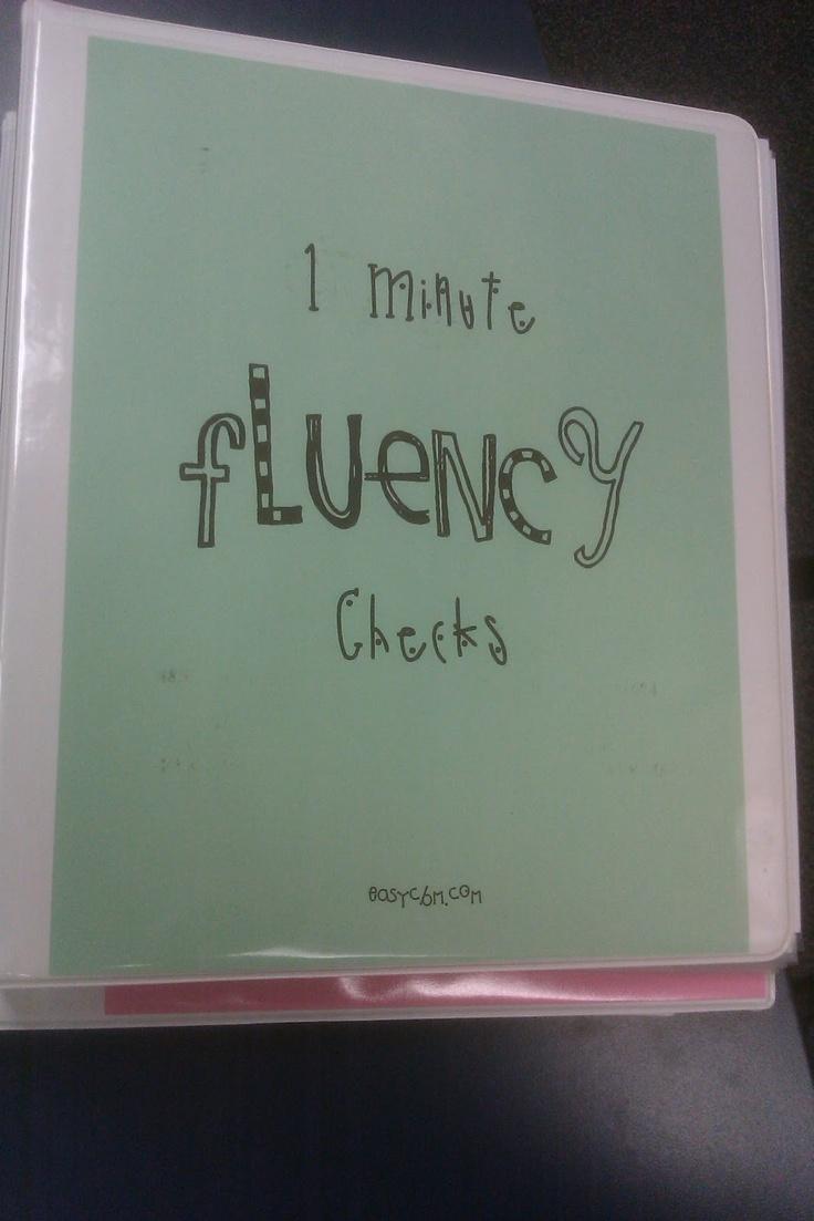 Playground Duty: Wordless Wednesday....Fluency Assessment, Reading Fluency, Reading Comprehension, Fluency Passages, Teacher Blogs, Languages Art, Fluency Check, Grade Level, Minute Fluency