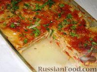 Фото к рецепту: Картофельный гратен с овощами