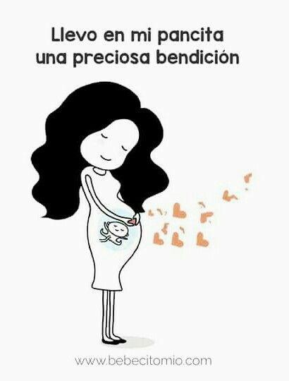 #Pancita #panza #preciosa #bendición #mamá #mami #embarazo