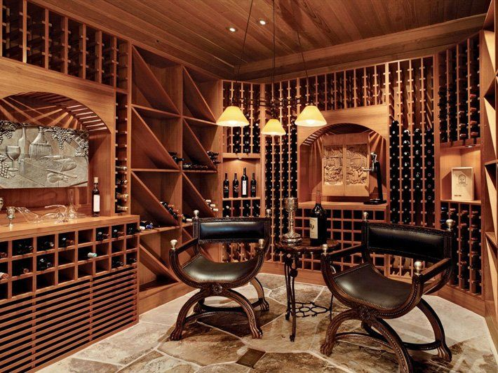cool home wine cellar design shelterness image - Home Wine Cellar Design Ideas