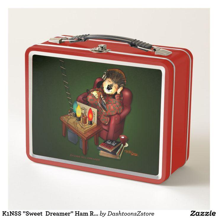 "K1NSS ""Sweet Dreamer"" Ham Radio Lunch Box   Zazzle.com"