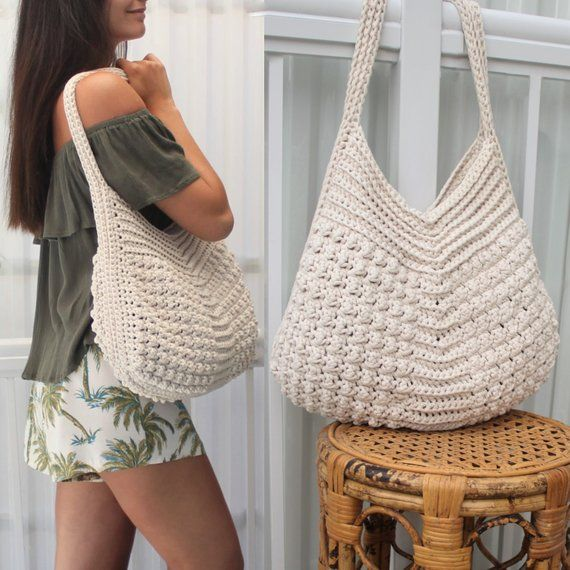 Crochet bag pattern-MACIE bag-Crochet pattern PDF-Crochet boho