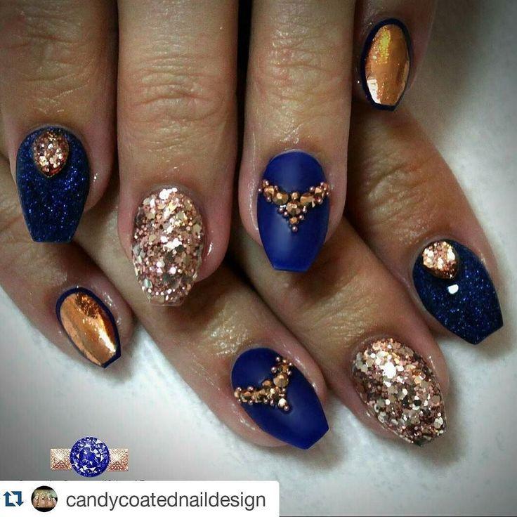 #Repost @candycoatednaildesign with @repostapp  Midnight shorties #throwback @brillbird_official @frenz_nail  @glitter_heaven_australia  #candycoatednaildesign #shortnails #midnightandrosegold #swarovskicrystals #nailcouture #notd #designernails #nailswag #wakeupandmakeup #ministryofnails #nailstoinspire #instanails #nailprodigy #ignails #nailsofinstagram #instagood #nailpromote #nailpro #hudabeauty #nailsmagazine #thenaillife #swannails #naileditmagazine #nailpro #nailpromagazine…