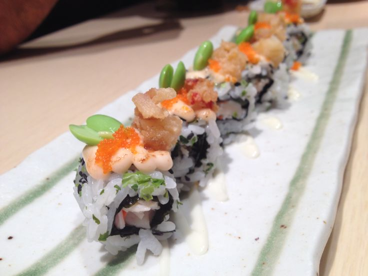 Lobster roll at Sushi Zanmai :P Cute!   Our Food Trail!   Pinterest