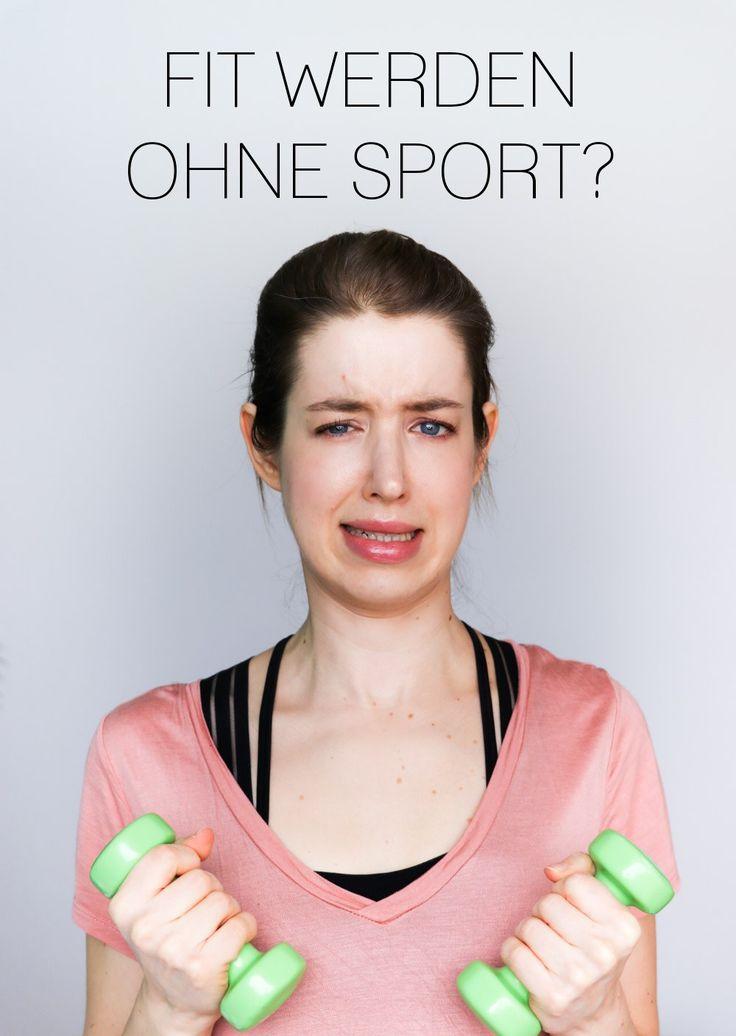 Fit werden ohne Sport! Meine Tricks für Bewegung im Alltag