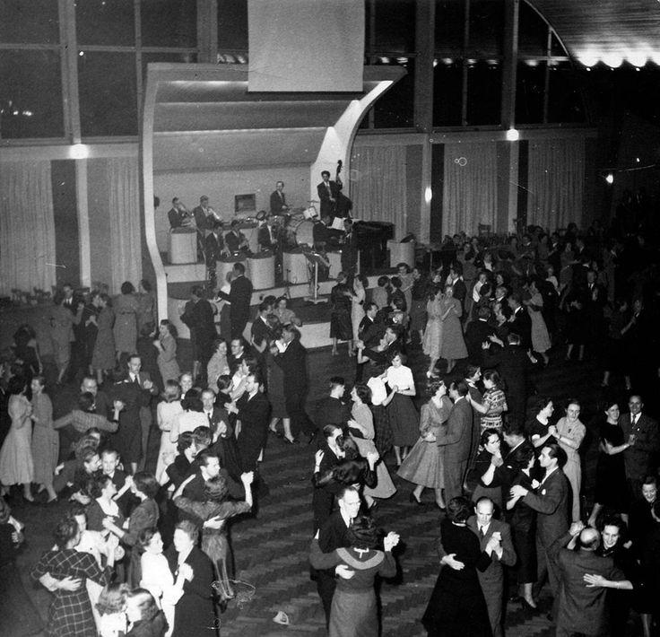 Styrdans på Amiralen, 1951.