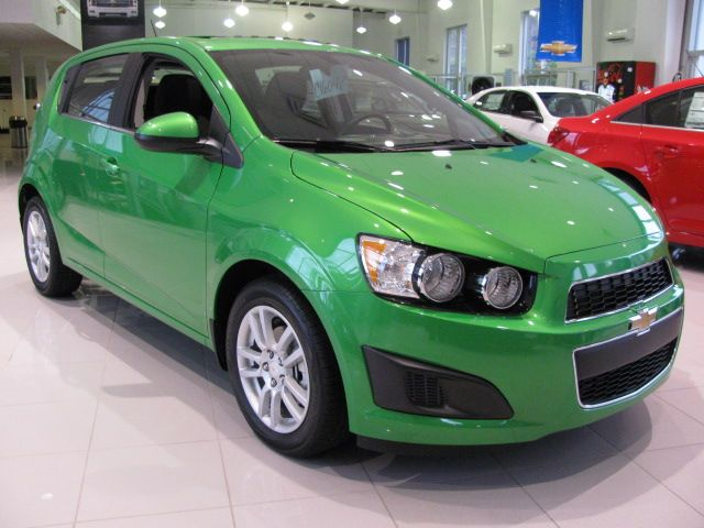 Dragon Green Metallic Chevy Sonic Chevrolet Chevy