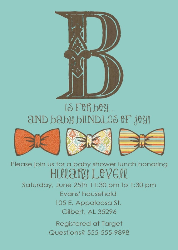 Baby boy shower invitation: Babyshower Ideas ️, Baby Boy Shower, Baby Seck, Bowties, Baby Maybe, Baby Boys Shower, Baby Shower
