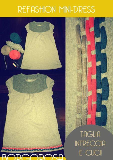 Borgorosa: TUTORIAL REFASHION DRESS