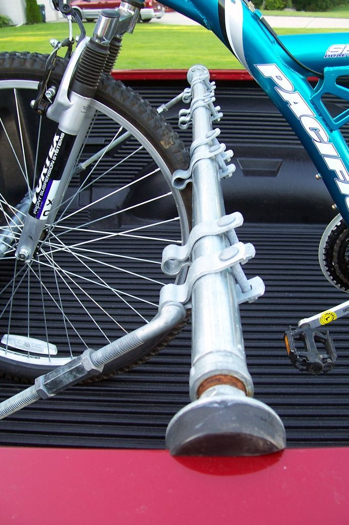 Truck Bed Bike Rack Truck bed bike rack, Diy bike rack
