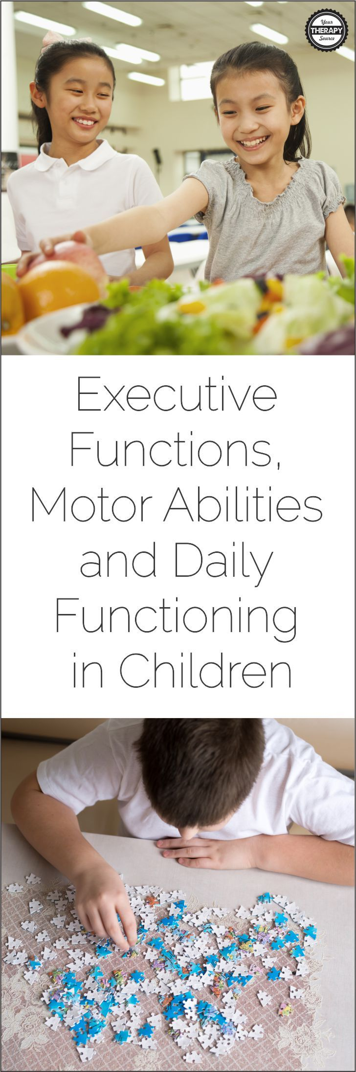 Executive Functions Motor Abilities and Daily Functioning