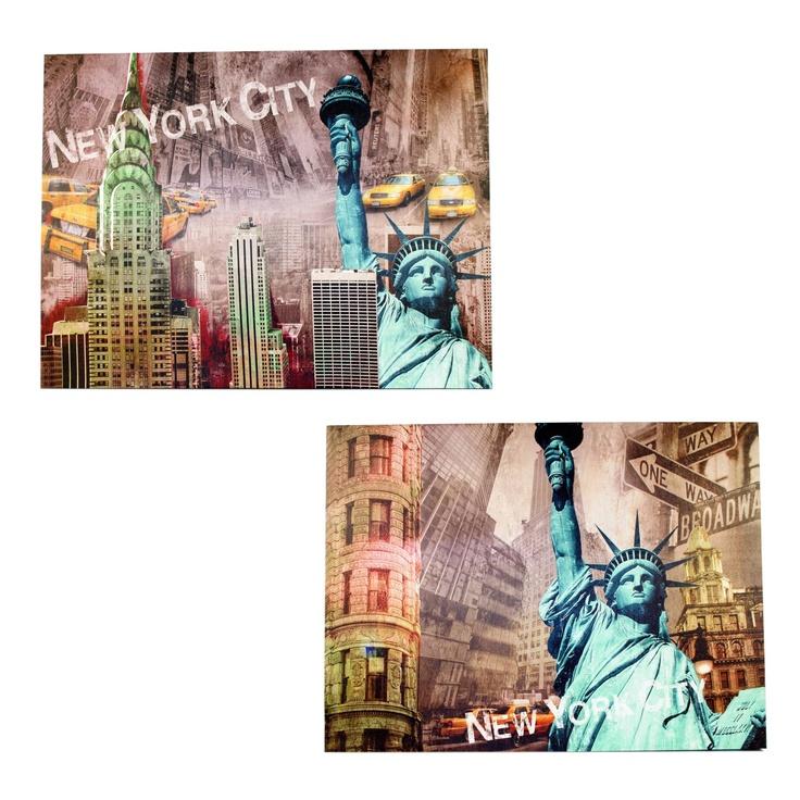 Assortiment Canvas New York City - Wanddecoratiestore.be - Stijlvolle & Betaalbare Wanddecoratie