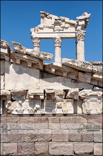 Temple of Trajan| Pergamon, Turkey