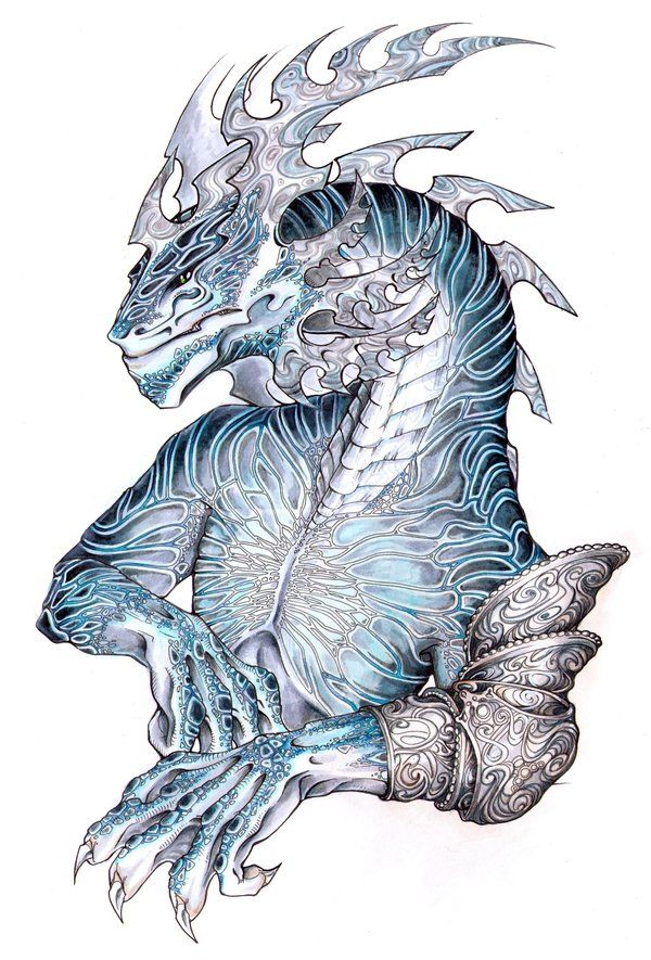 169 best half dragon anthro images on pinterest fantasy art alabaster dragon by drachenmagier on deviantart pronofoot35fo Choice Image